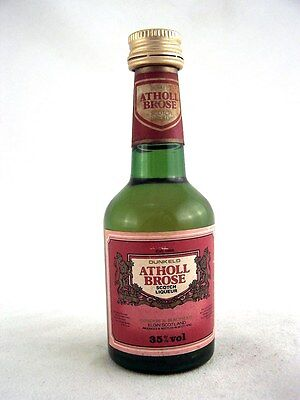 Miniature circa 1978 ATHOLL BROSE LIQUEUR SCOTCH Isle of Wine