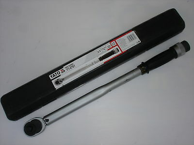 "CLE DYNAMOMETRIQUE 3/8""  gamme pro YATO 0750**"