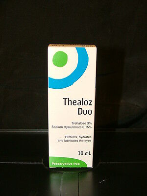 Thealoz Duo Eye Drops 10ml - RRP £13.99 - Preservative Free