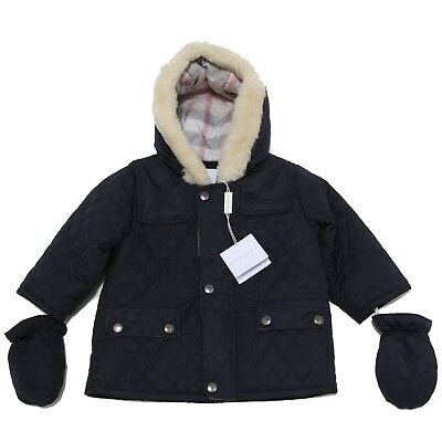 3712N giubbotto BURBERRY blu bimbo jackets kids