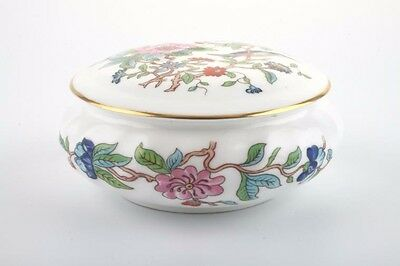 "Aynsley China Pembroke 4"" Lidded Trinket Box Excellent Condition"