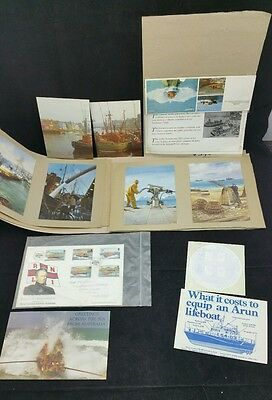 Small Lifeboat Scrapbook,  later 90's with Postcards, Press Cuttings etc