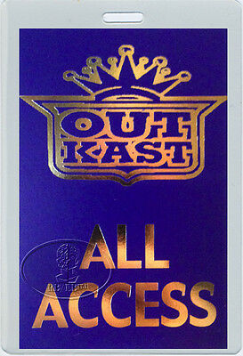 OUTKAST 2003 Tour Laminated Backstage Pass Andre 3000 Big Boi