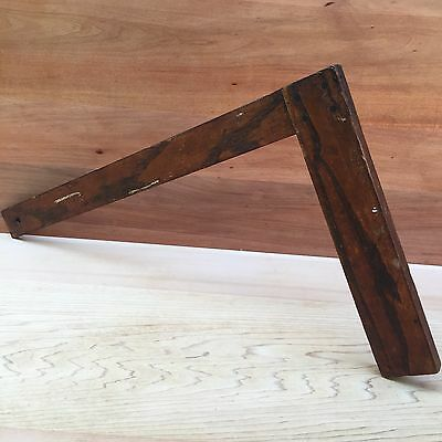 Vintage Hand Tools Large Wooden SETTING OUT SQUARE Antique Old Marking Tool #56