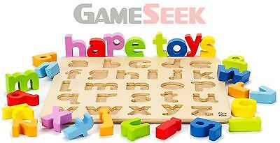 Hape Lowercase Alphabet Puzzle | Free Delivery Brand New Toys