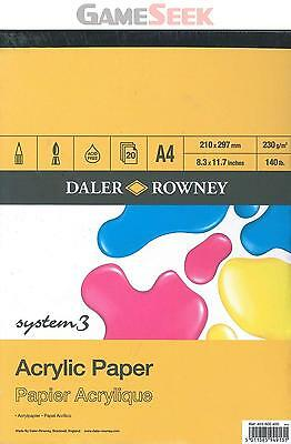 Daler Rowney A3 System 3 Acrylic Pad