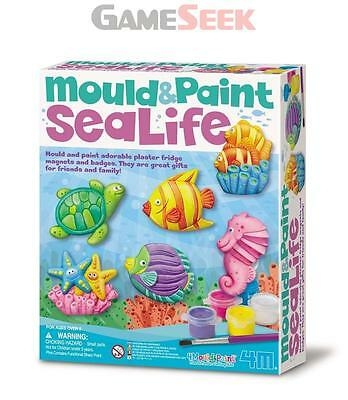 Sealife Mould And Paint - Toys/games Creative Play Brand New Free Delivery