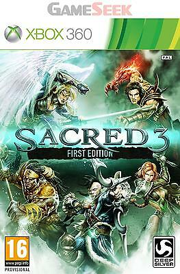 Sacred 3 First Edition - Xbox 360 Brand New Free Delivery