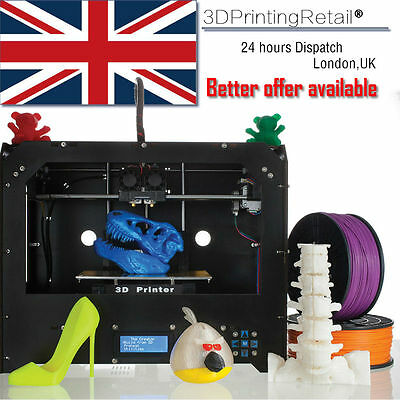 2017 3D Printer for Makerbot Replicator 2 + 1 Roll Free (PLA or ABS) Filament