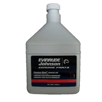 Johnson/Evinrude/OMC New OEM GEAR LUBE, PREMIUM BLEND 32OZ OIL 0775609, 775609