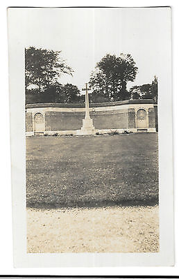 Hazebrouck Commonwealth Cemetery, Central Memorial, Unposted RP PPC