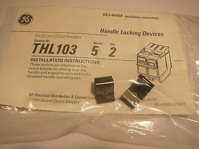 NEW General Electric GE THL103 Handle Locking Device (2 Pack)  LOTS MORE Listed