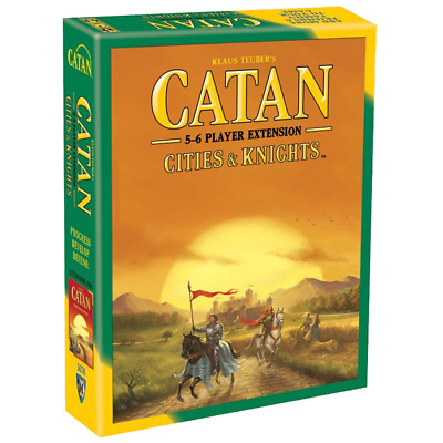 Settlers of Catan 5th Ed Cities & Knights Expansion - Extension for 5-6 Players