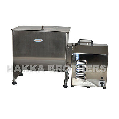 HAKKA 60 Pound / 30 Liter Capacity Tank Commercial Electric Meat Mixer FME30B
