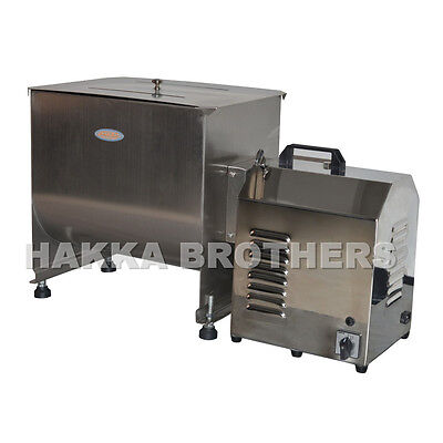 HAKKA 80 Pound / 40 Liter Capacity Tank Commercial Electric Meat Mixer FME40B