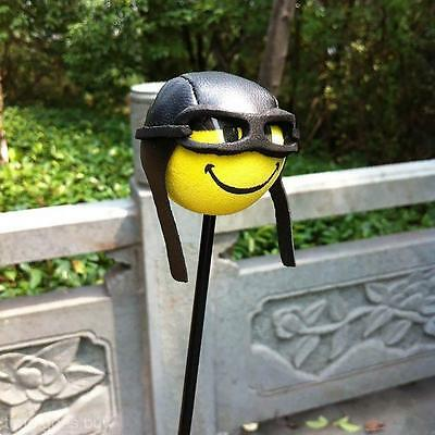 Funny EVA Car Aerial Ball Antenna Topper Truck SUV Pen Decor Gift Toy Pilot Type