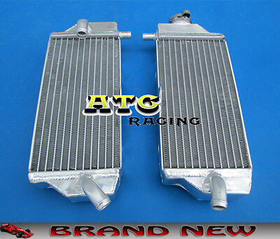 aluminum radiator For YAMAHA YZF250 YZ250F 10-13 2010 2011 2012 2013 10 11 12