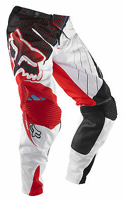 FOX HEAD RACING pant motocross 360 Flight red 01040-003 taglia 30 top di gamma