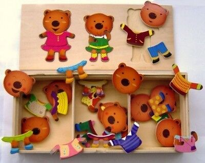 Wooden Puzzles In A Box
