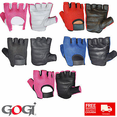 Fingerless Cycling Padded Weight Training Sports Wheelchair Unisex Gloves 6001