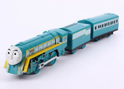 2015 New Takara Tomy Thomas Motorized Ts-16 Connor W/ 2 Trucks