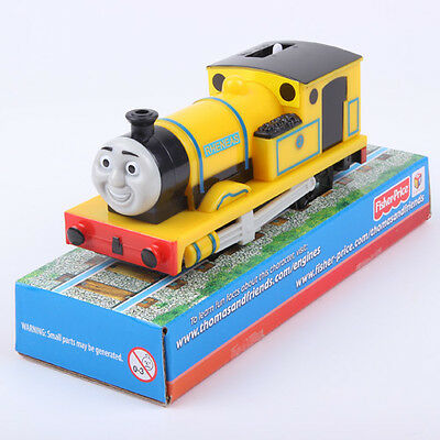 Nib Fisher Price Trackmaster Thomas Motorized Battery Train -Yellow Rheneas Head
