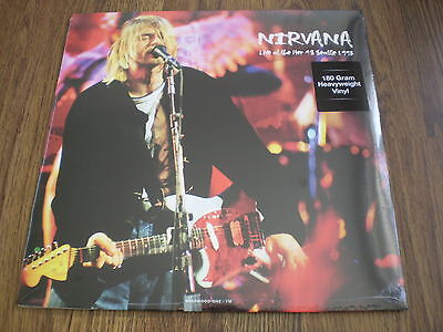 NIRVANA - LIVE AT THE PIER 48 SEATTLE 1993  NEW 180g LP SEALED