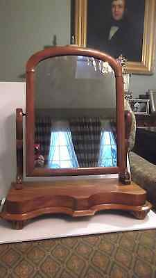 Antique vanity mirror, shaving mirror