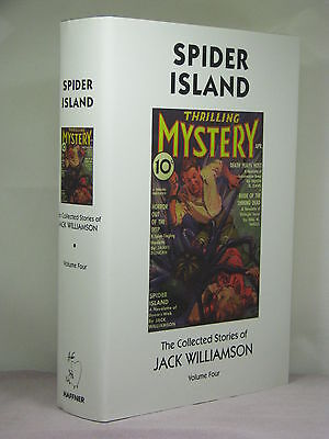 1st,2 signatures(author,ed),Collected Stories of Jack Williamson 4:Spider Island