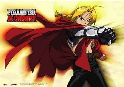 *NEW* Fullmetal Alchemist: Edward Elric Automail Landscape Wall Scroll