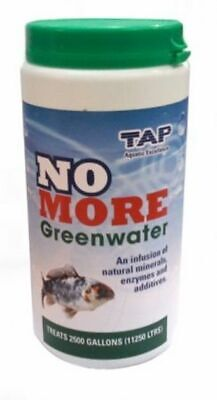 1kg TAP NO MORE GREENWATER POND GREEN AWAY WATER TREATMENT KOI FISH ALGAE WEED