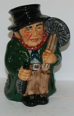 Roy Kirkham Pottery Character Jug Sweep  *** Perfect ***