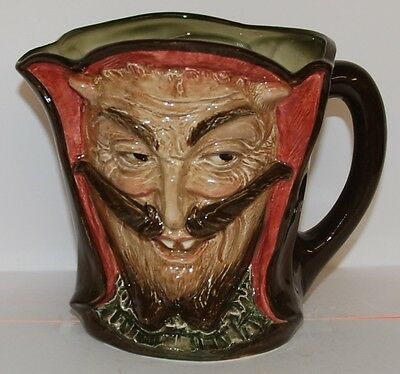 Large Royal Doulton Character Toby Jug Mephistopheles *** Perfect **** Very Rare
