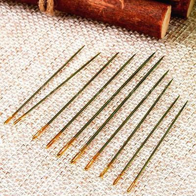 10PCS Canvas Sewing Stitching Needles Leather Craft Handmade Repair Tools