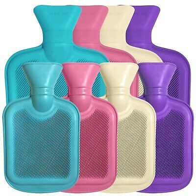 Premium Rubber Hot Water Bottle by WheatyBags® available in 2L or 750ml sizes