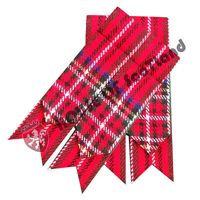 Men's Kilt Hose Sock Flashes Royal Stewart Tartan/ Kilt Hose Socks Flashes
