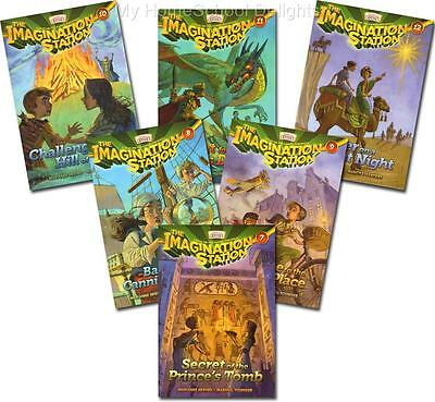 New IMAGINATION STATION SERIES Books 7 8 9 10 11 12 SET of 6 Adventures Odyssey