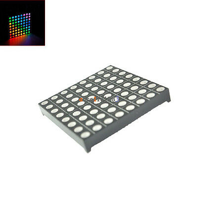 5mm 8*8 8x8 Full Colour RGB LED Dot Matrix Display Module Common Anode