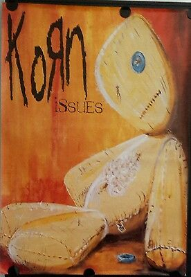 KORN-ISSUES Original Giant Promotional Poster 40 x 60 inch. FREE INT. SHIPPING
