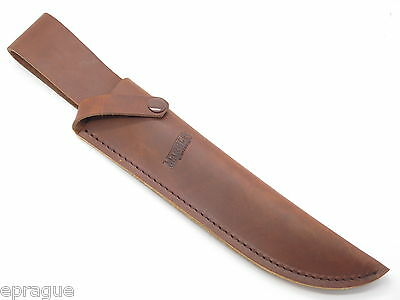 """Marbles Trailmaker Leather Bowie Knife Sheath 10"""" Fixed Blade Cold Steel"""