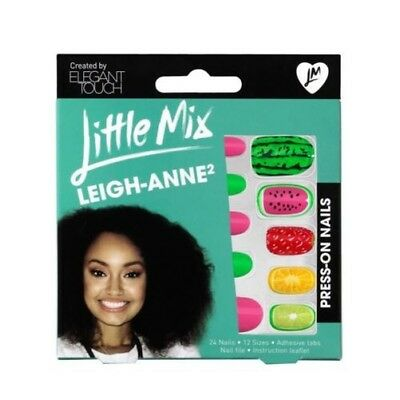 Elegant Touch Little Mix Faux Ongles Leigh-Anne 2 Bright Fruit (24 ongles)