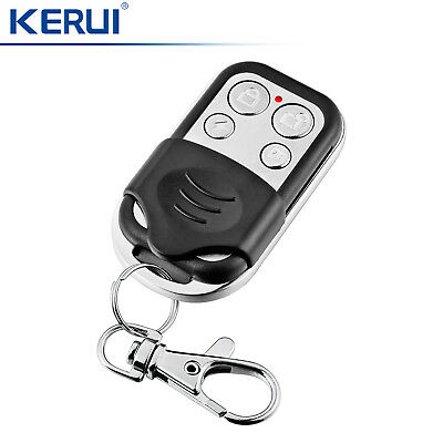 433MHz KERUI Wireless Metal Remote Controller For Home Securtity Alarm System