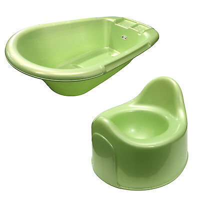 Rotho BabyDesign Mint Baby Bath & Small Baby Potty Made in Switzerland