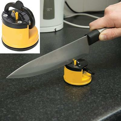 Easy & Clean To Use Suction Knife Sharpener Tct Sharpening  Kitchen Penknives