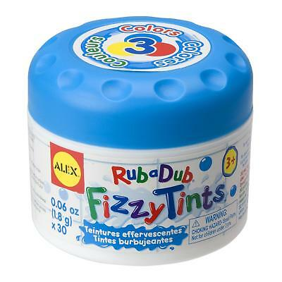 Alex Fizzy Bath Tints - Tablets to Make Children's Bath Water Change Colour