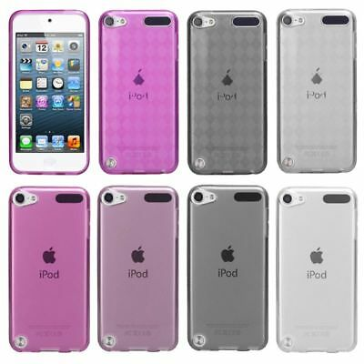Pink Purple Smoke Candy Hard Skin Case Cover For ipod touch 5 6 5th Generation