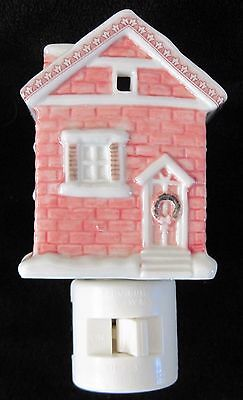 Noble-ExcellenceTwas Night Before Christmas Village House Night Light NEW