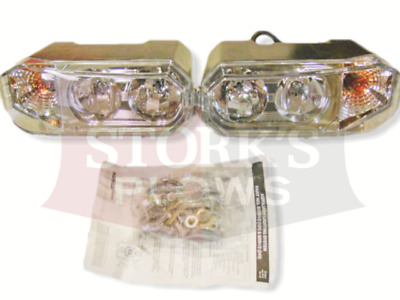 snowplow light kit universal halogen snow plow lights • 146 85 new style hiniker plow lights snowplow light kit dual bulb 25013250 25013251