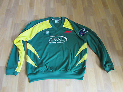LEICESTERSHIRE Ryan CUMMINS No 25 Match Worn / Issue CRICKET Top XL - SEE PICS