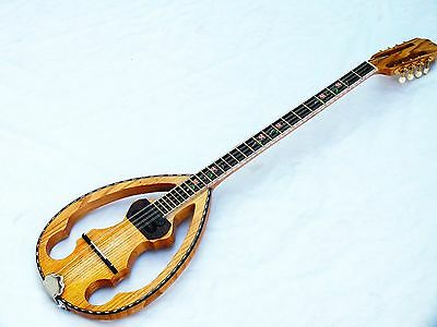 Silent :: Greek Silent Bouzouki   With  Magnetic Free Gigbag New  !!!!!!!!!!!!!!